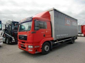 MAN TGM 18.290 4x2 HBE,Schlafkabine - ciężarówka plandeka