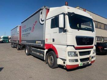 Ciężarówka plandeka MAN TGX 18.400 Plane LBW 4x2 EEV