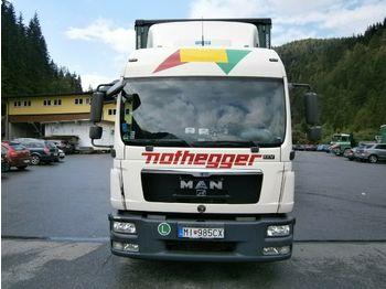 MAN TG-L 220 L2007.46.011 Ultralight incl. Anhänger  - ciężarówka plandeka