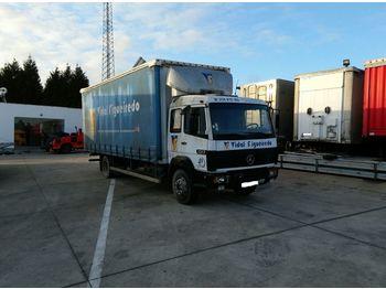 MERCEDES-BENZ 1217 left hand drive 12 ton OM366 - ciężarówka plandeka