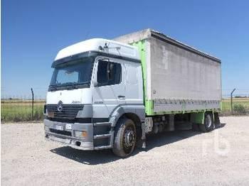 MERCEDES-BENZ ATEGO 1828 4x2 - ciężarówka plandeka