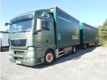 Ciężarówka plandeka M.A.N TGX480: zdjęcie 1