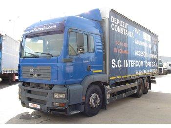 Man Tga26480 6x2 2ll - ciężarówka plandeka