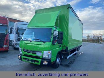Mitsubishi * FUSO * CANTER * EURO 6 * MOTORBREMSE  - ciężarówka plandeka