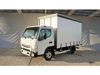 Mitsubishi Fuso Canter 7C15 pritsche 3,7m / zwilling  - ciężarówka plandeka