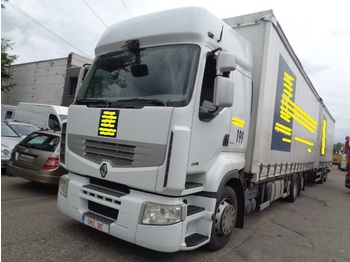 Ciężarówka plandeka Renault Premium 450 Full Combi manual