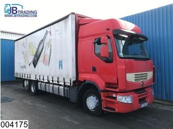 Renault Premium 460 Dxi 6x2, EURO 5, Retarder, Airco - ciężarówka plandeka