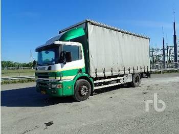 SCANIA P114-340 4x2 - ciężarówka plandeka