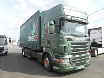 SCANIA R 440  - ciężarówka plandeka