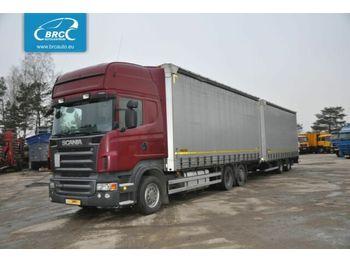 SCANIA SCANIA WIELTON R 480 + trailer Wielton R 480 + trailer Wielton PC16K - ciężarówka plandeka