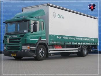 Ciężarówka plandeka Scania P320 DB4X2MNB | SCHIEBESEITENWAND | SLIDING SIDE BOX | 829 X 249 X 266
