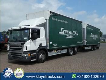 Ciężarówka plandeka Scania P410 6x2 combi 237tkm