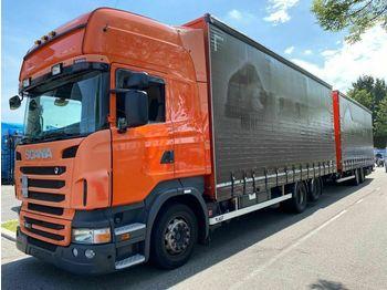 Scania R380 6X2 RETARDER - EURO 5 - NL TRUCK + LAG 2 AS  - ciężarówka plandeka