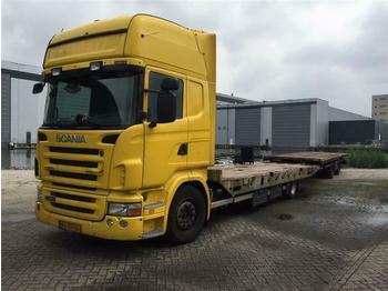 Ciężarówka plandeka Scania R440 - SOON EXPECTED - 4X2 WITH TRAILER EURO 5 R