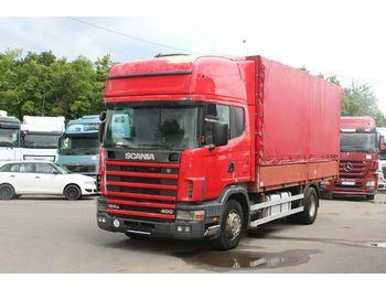 Scania R 124  400  - ciężarówka plandeka