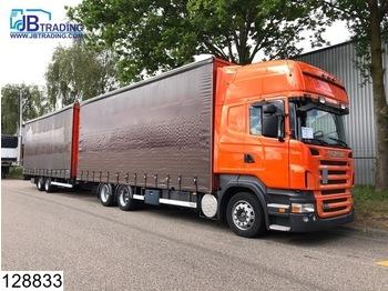 Scania R 380 6x2, Retarder, Airco, 3 Pedals, Combi, Jumbo, Mega - ciężarówka plandeka