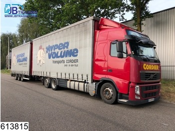 Volvo FH13 460 6x2, EURO 5, Airco, Jumbo, Mega, Combi - ciężarówka plandeka