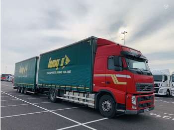 Volvo FH420 + Samro is Prancuzijos  - ciężarówka plandeka