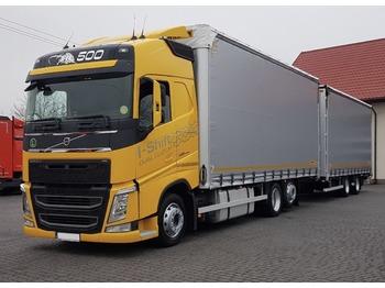 Volvo FH500 - ciężarówka plandeka