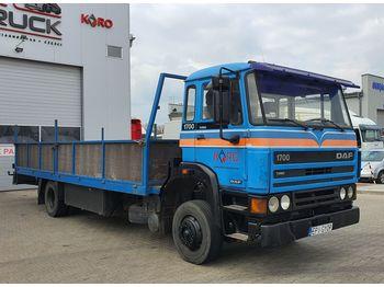 Ciężarówka platforma DAF 1700 full Stell, Manual, 7 meter