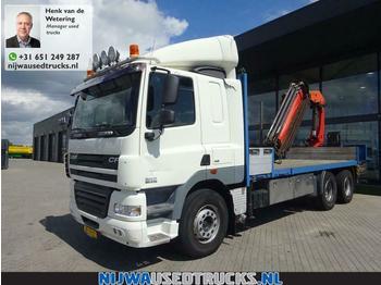 DAF CF 85 410 Palfinger PK23003 Kran + Vangmuil  - ciężarówka platforma