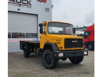 Ciężarówka platforma IVECO MAGIRUS 120-130,Full Steel 4x4, Manual