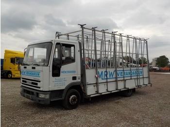 Ciężarówka platforma Iveco Eurocargo 60 E 12 (STEEL SUSPENSION / BELGIAN TRUCK)