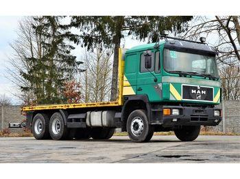 MAN 26.402 6x4 1994 - flatbed - ciężarówka platforma