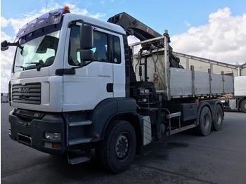Ciężarówka platforma MAN TGA 26.360 PLATEAU/GRUE