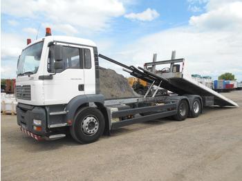 MAN TGA 28.350 - ciężarówka platforma