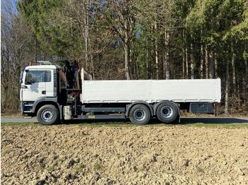 MAN TGA 28.390 6x2 - 2BL - ciężarówka platforma