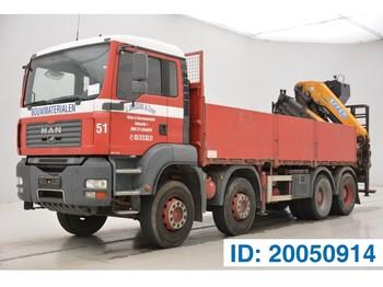 Ciężarówka platforma MAN TGA 32.360 - 8x4