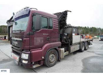 Ciężarówka platforma MAN TGS 26.440