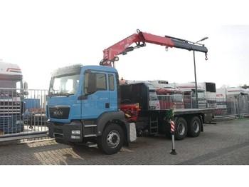 Ciężarówka platforma MAN TGS 33.360 BB WW