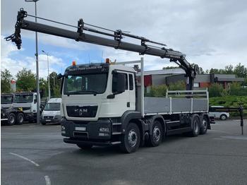 Ciężarówka platforma MAN TGS 35.400
