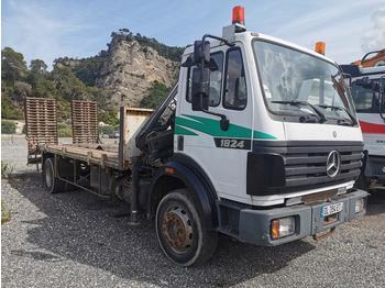 Mercedes 1824 - ciężarówka platforma