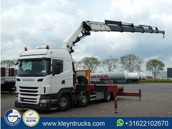 Scania R440 8x2*6 e5 hmf odin k6 - ciężarówka platforma