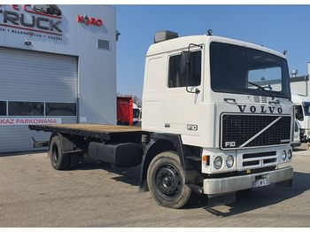 Ciężarówka platforma VOLVO F10 360, Full Steel, Euro 2, Manual