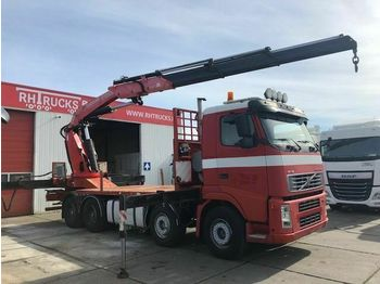 Ciężarówka platforma Volvo FH12-460 8X4 FASSIE 600 FULL STEEL
