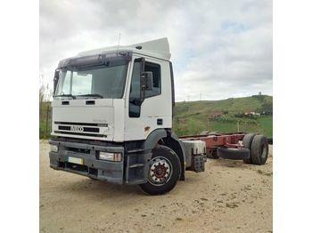 IVECO Eurotech 190E31 left hand drive 19 ton ZF manual - ciężarówka podwozie