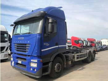 IVECO STRALIS AS260S50 - ciężarówka podwozie