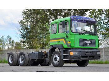 MAN 27.463 6x4 1997 - ciężarówka podwozie