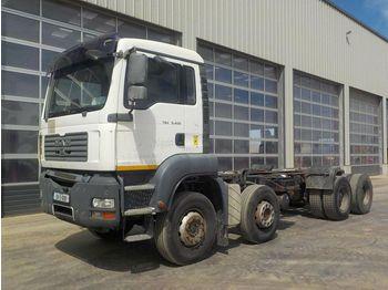MAN TGA 35.400 - ciężarówka podwozie