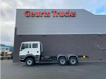 MAN TGS 26.440 6X4 CABINE DOUBLE CABINE  - ciężarówka podwozie