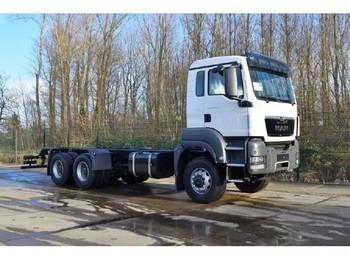 Ciężarówka podwozie MAN TGS 33.400 BB WW 6x6