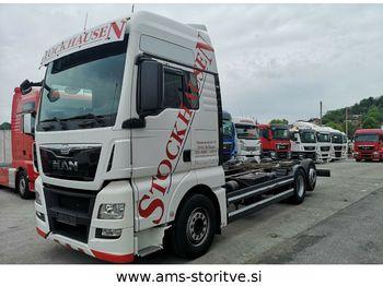 MAN TGX 26.440 6X2 EURO 6, Intarder  - ciężarówka podwozie