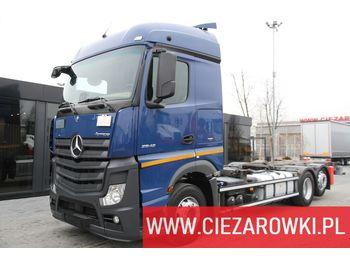 MERCEDES-BENZ ACTROS 2542 6×2 E6 RETARDER BDF CHASSI - ciężarówka podwozie
