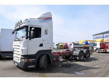 SCANIA R500 6X2 - ciężarówka podwozie