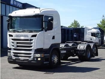 Scania R410LB6X2*4HNA only ad-blue - ciężarówka podwozie