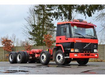 VOLVO FL12 380 8x4 model 1998 - chassis - ciężarówka podwozie